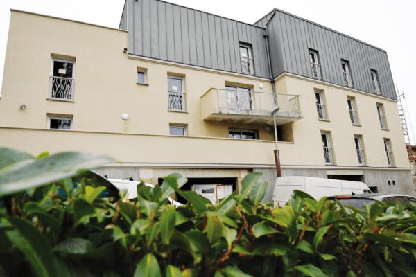 Granudem - Actualités - Usine nouvelle - Immeuble construit avec du béton recyclé Granudem