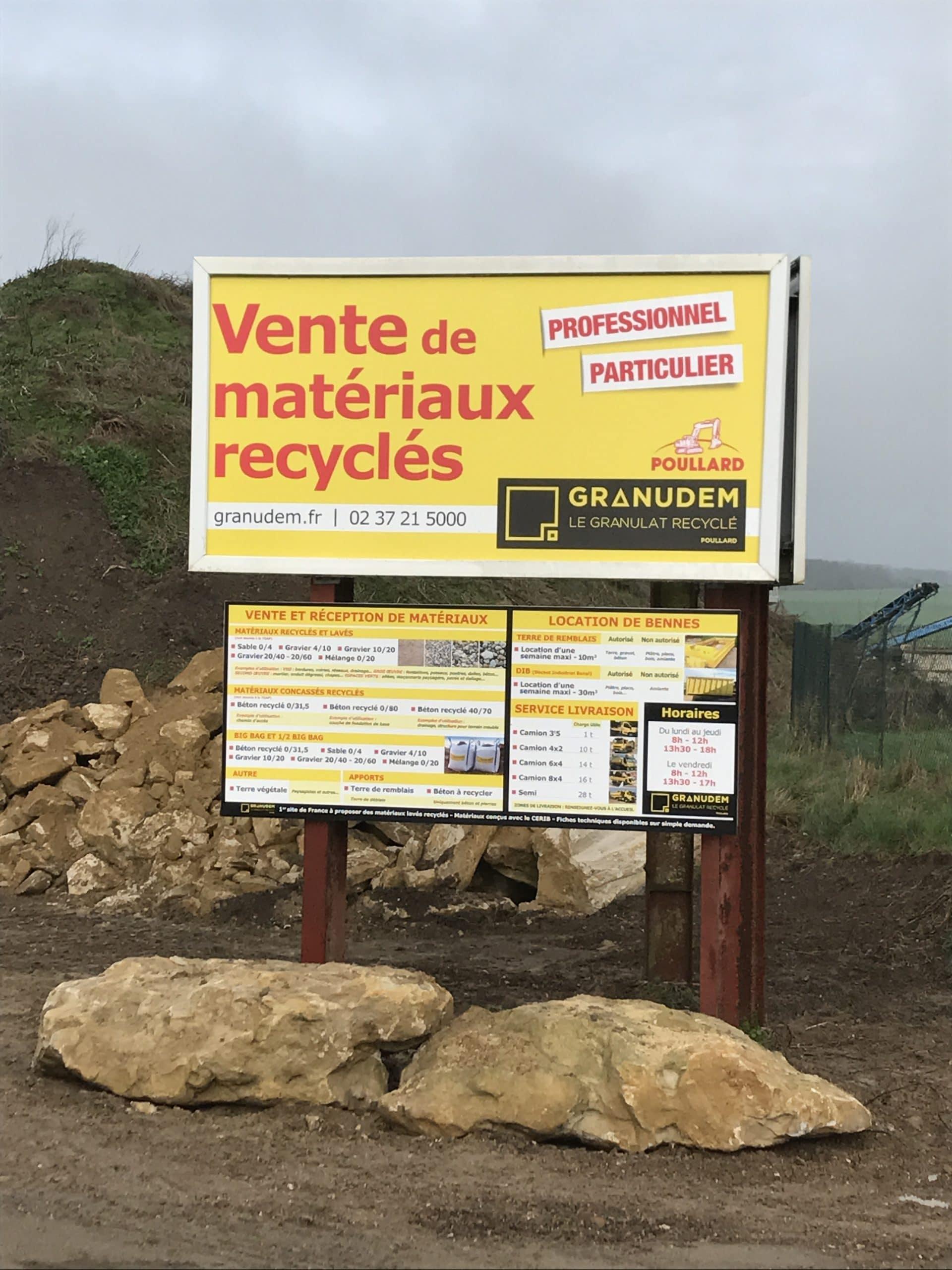 Granudem - Granulats et bétons recyclés - Site de transformation à Poisvilliers - 7