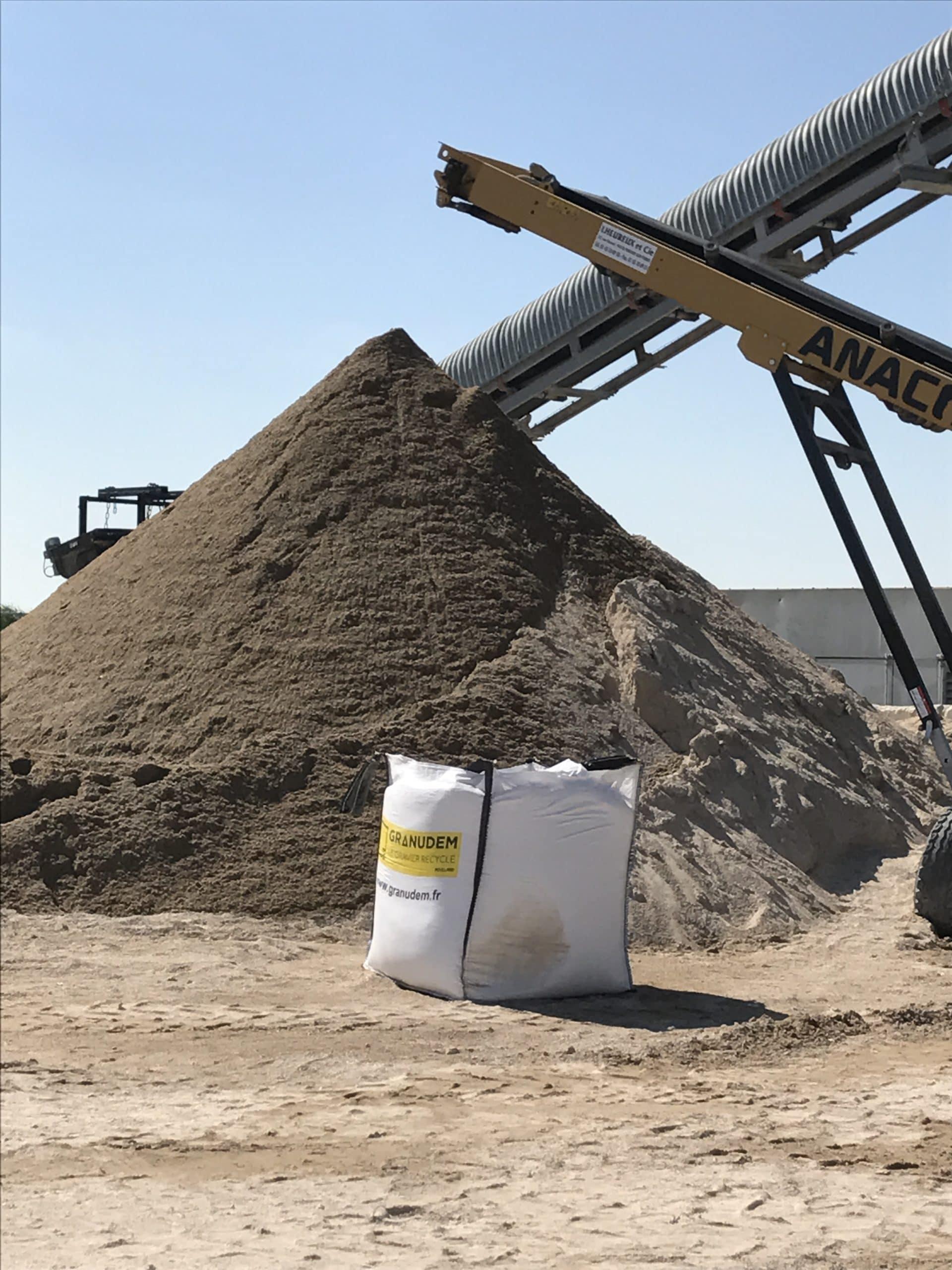 Granudem - Granulats et bétons recyclés - Site de transformation à Poisvilliers - 5