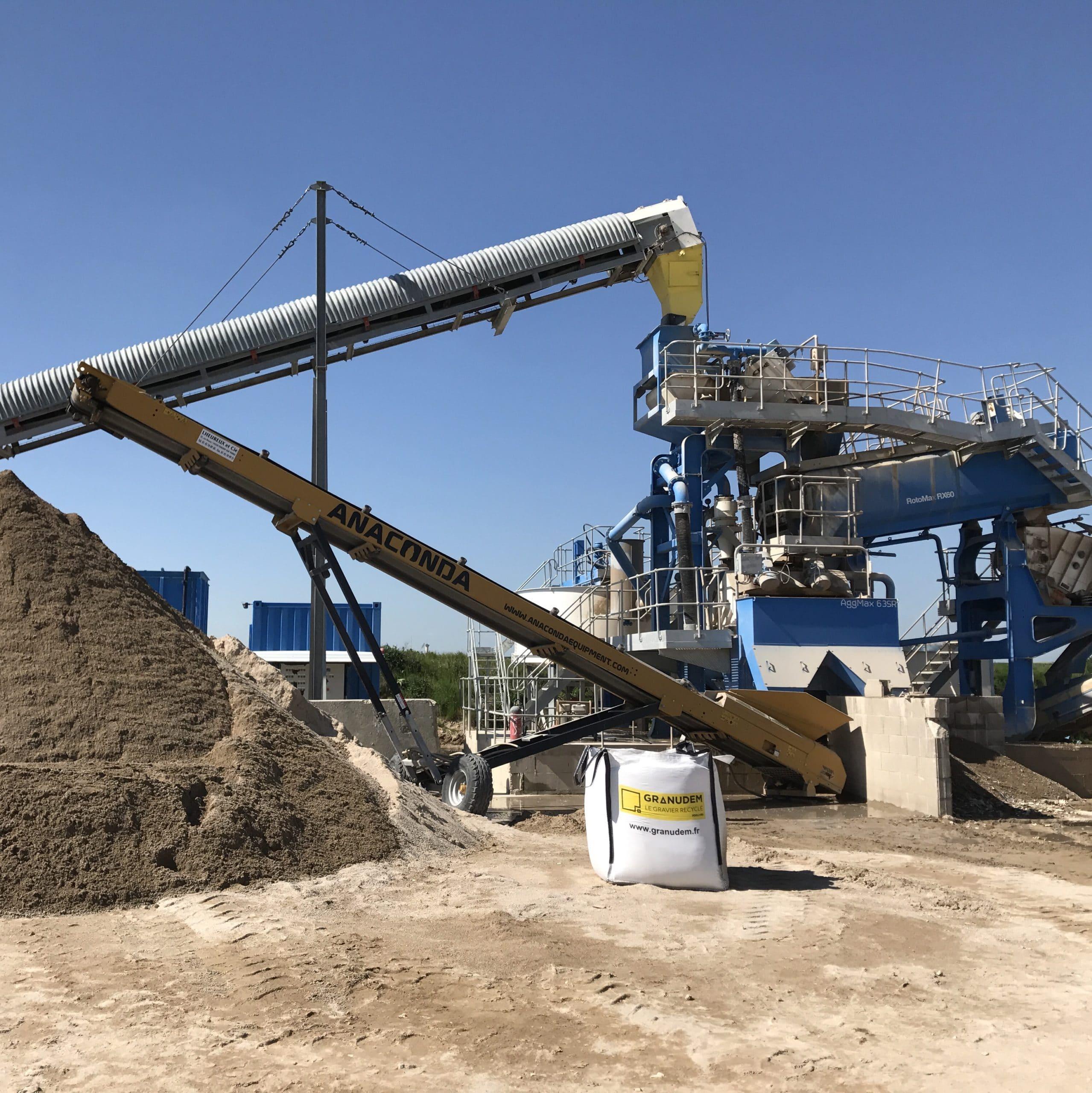 Granudem - Granulats et bétons recyclés - Site de transformation à Poisvilliers - 4
