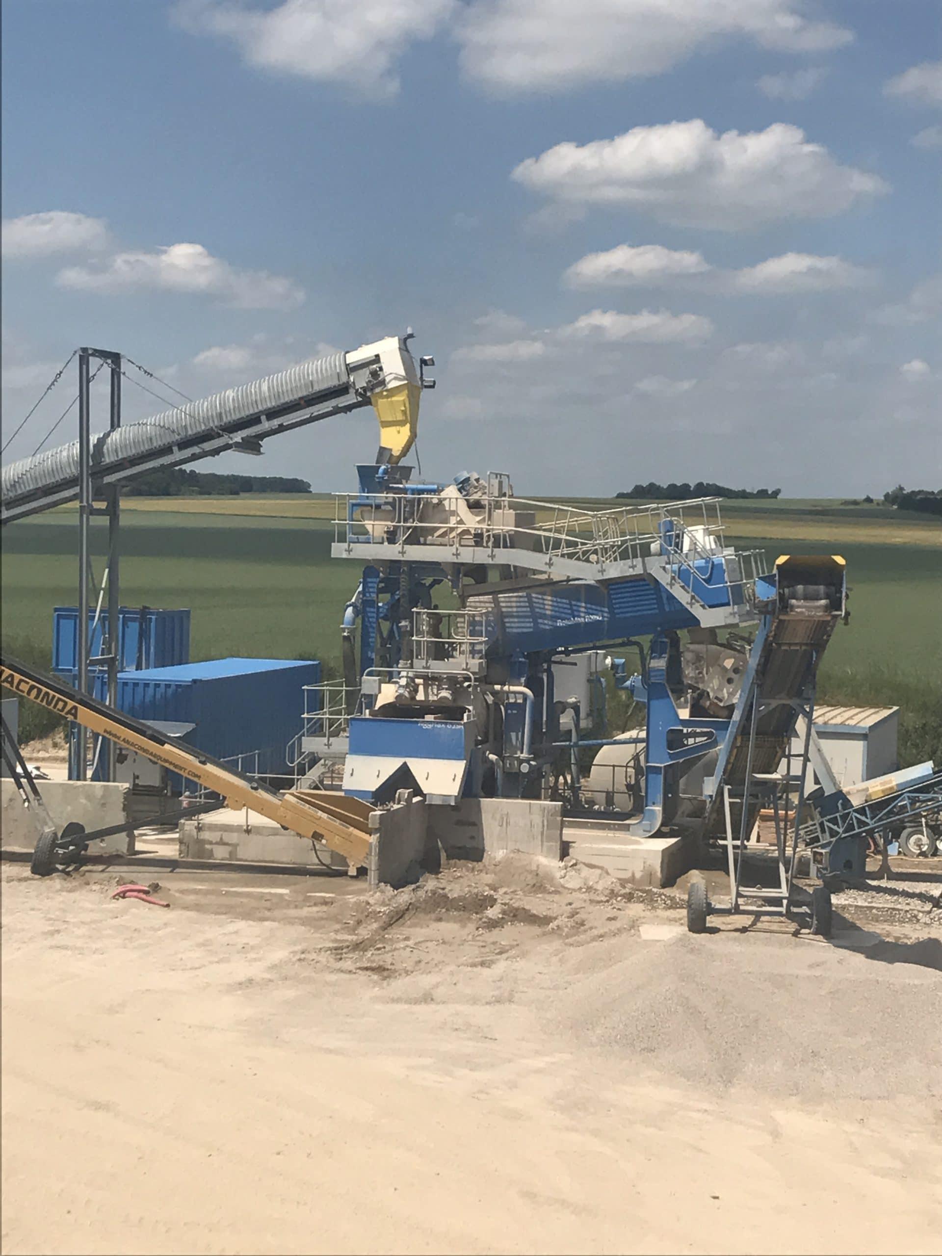 Granudem - Granulats et bétons recyclés - Site de transformation à Poisvilliers - 3