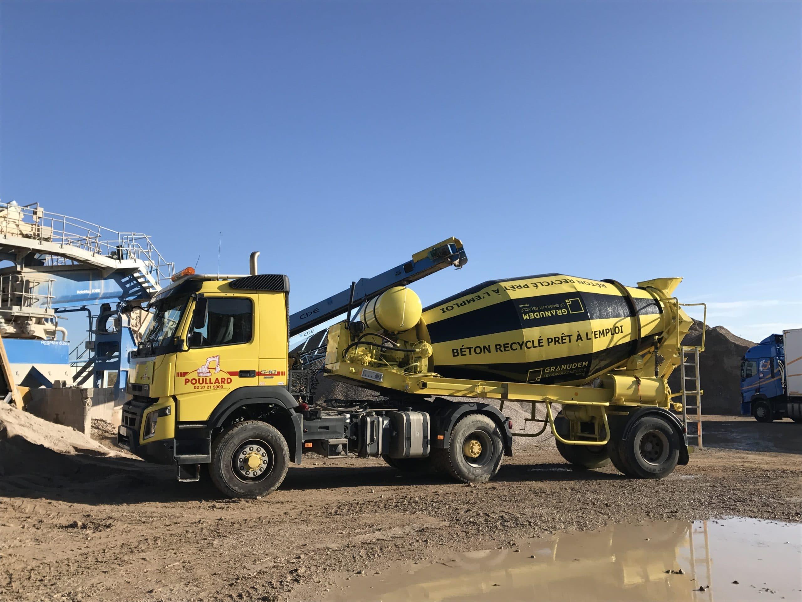 Granudem - Granulats et bétons recyclés - Camion Granudem - 3