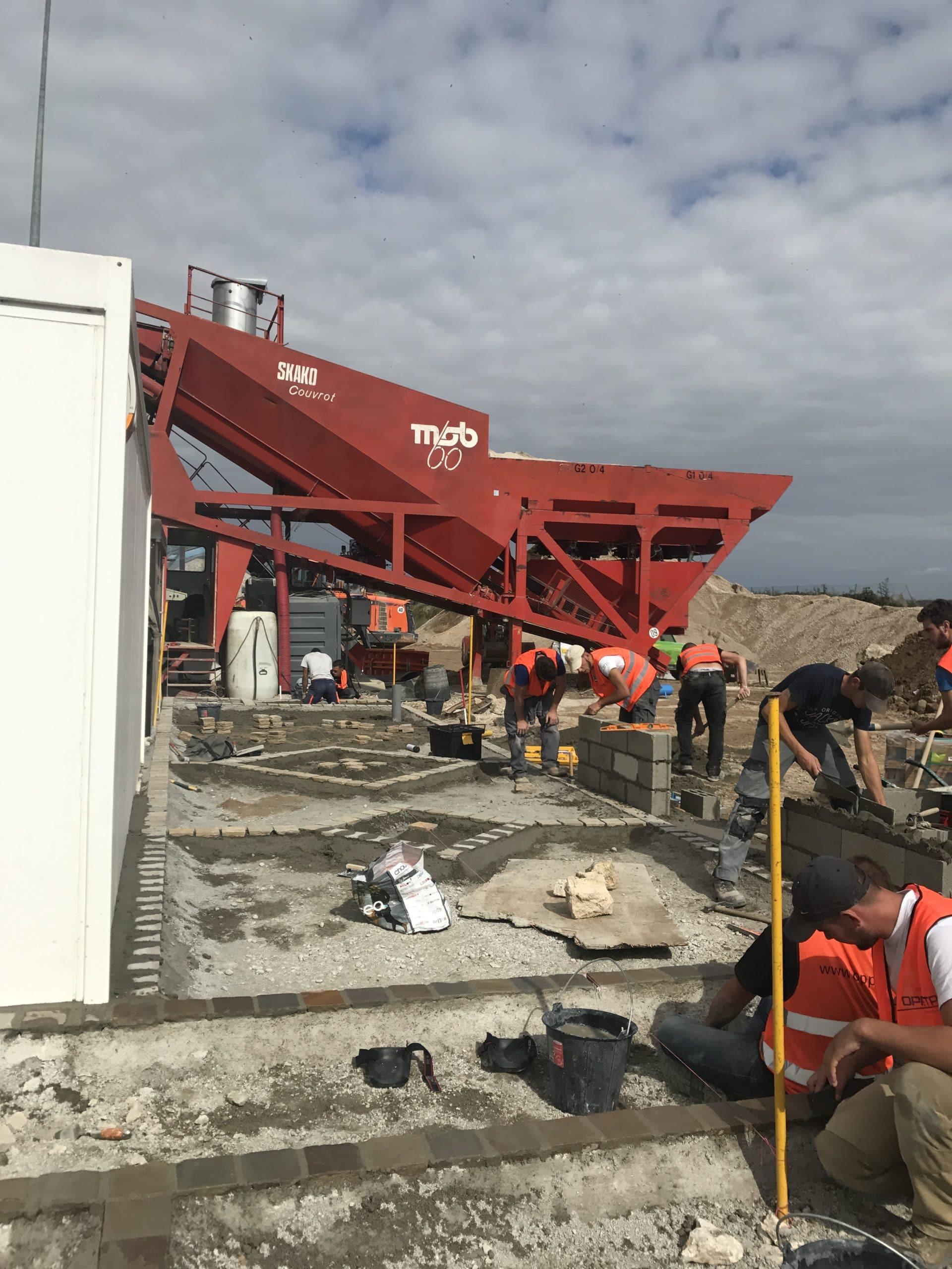 Granudem - Granulats et bétons recyclés - Site de construction Granudem - 2