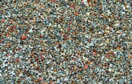 Granudem - Granulat et béton recyclés - Gravier recyclé - Photo du gravier recyclé et lavé - 1